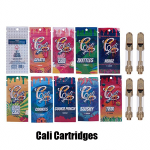 cali plug bags packaging with carts